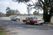 63720 - David McKay & Greg Cusack, Vauxhall Velox - Keven Bartlett & Bill Reynolds, Holden EH S4 179 - Armstrong 500 Bathurst 1963 - Photographer Ian Thorn