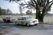 63722 - Warren Weldon & Bert Needham, Studebaker Lark - Bob Jane & Harry Firth, Ford Cortina GT - Armstrong 500 Bathurst 1963 - Photographer Ian Thorn