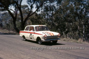 65775 - Bob Jane & George Reynolds, Ford Cortina GT500 - Armstrong 500 Bathurst 1965 - Photographer Ian Thorn