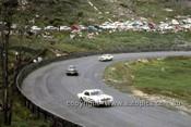 65076 - Ian Geoghegan, Norm Beechey & Bob Jane - Ford Mustang  - Catalina Park Katoomba 1965- Photographer Ian Thorn