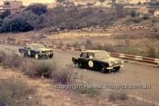 65078 -Ian (Pete) Geoghegan Lotus Cortina & Norm Beechey, Ford Mustang - Catalina Park Katoomba 1965- Photographer Ian Thorn