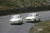 65080 - M. Volkers & W. Orr, Ford Cortina - Catalina Park Katoomba 1965- Photographer Ian Thorn