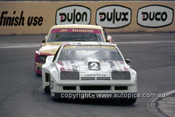 76076 - Allan Moffat Monza & Jim Richards, Mustang  - Oran Park 1976 -  Photographer Neil Stratton