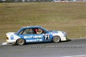 87041 - Graeme Hooley, Commodore VK - Oran Park 1987 - Photographer Ray Simpson