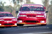 Mark Skaife & Jim Richards, Commodore VR - Lakeside 1995 - Photographer Marshall Cass