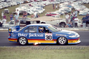 95040 - Glenn Seton, Falcon EF - Lakeside 1995 - Photographer Marshall Cass