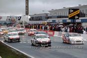 96700  - Start of the Bathurst 1000 - 1996  - Photographer Lance J Ruting