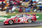 201721 - Mark Skaife / Tony Longhurst - Holden VX Commodore - 1st Outright Bathurst 2001 - Photographer Marshall Cass