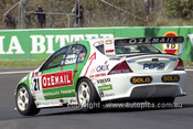 201724 - B. Jones & J. Cleland, Ford Falcon AU - 2nd Outright Bathurst 2001 - Photographer  Marshall Cass