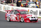 201740 - J. Bright & T. Mezera, Holden Commodore VX - Bathurst 2001 - Photographer  Marshall Cass