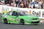 201749 - J. Brock & S. Owen, Holden Commodore VX - Bathurst 2001 - Photographer  Marshall Cass