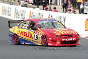 201750 - C. McLean & G. Ritter, Ford Falcon AU - Bathurst 2001 - Photographer  Marshall Cass