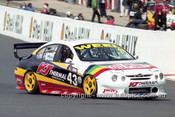 201765 - P. Weel & T. Leahey, Ford Falcon AU - Bathurst 2001 - Photographer  Marshall Cass