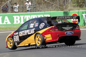 201768 - J. Bowe & S. Wills, Ford Falcon AU - Bathurst 2001 - Photographer  Marshall Cass