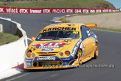 201771 - M. Larkham & W. Gardner, Ford Falcon AU - Bathurst 2001 - Photographer  Marshall Cass