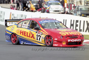 201774 - S. Johnson & P. Radisich, Ford Falcon AU - Bathurst 2001 - Photographer  Marshall Cass