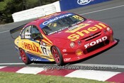 201775 - S. Johnson & P. Radisich, Ford Falcon AU - Bathurst 2001 - Photographer  Marshall Cass