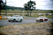 620008 - John French & Paul Bolton / Arnold Glass & Noel Hall, Datsun Bluebird - Bathurst Six Hour Classic - 30th September 1962 - Photographer Bruce Wells.