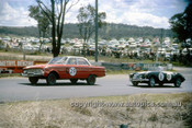 620010 - Harry Firth & Bob Jane, Falcon /  K. John & P. Caldacoat MG A - Bathurst Six Hour Classic - 30th September 1962 - Photographer Bruce Wells.