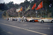 620042 -  Start of the Production Sports Car Race- Austin Healey, MG A, Sprite - Catalina Park Katoomba  1962 - Photographer Bruce Wells.