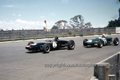 620070 - Leo Geoghegan, Lotus 20 - Catalina Park Katoomba  1962 - Photographer Bruce Wells.