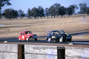 620079 -  Warren Weldon, Morris Minor - Oran Park September 1963 - Photographer Bruce Wells.