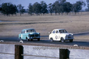620080 -  Frank Kleinig Austin A30 - Oran Park September 1963 - Photographer Bruce Wells.