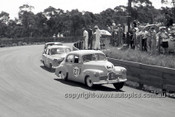 630003 -  Des West / Bruce McPhee / Barry Seton, Holden's FX & FE - Catalina Park Katoomba  1963 - Photographer Bruce Wells.