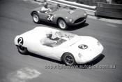 630025 - Frank Gardner, Lotus 23 - Catalina Park Katoomba  1963 - Photographer Bruce Wells.