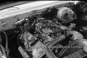 630032 - Norm Beechey, Chev Impala Engine - Catalina Park Katoomba  1963 - Photographer Bruce Wells.