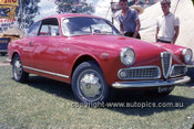 630047 - Alfa Romeo 1600 Sprint  - Lakeside International 1963 - Photographer Bruce Wells.