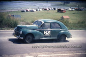 630050 - M. Faithfull, Peugeot 203 - Lakeside International 1963 - Photographer Bruce Wells.