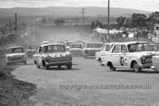 640002 - First Corner - Firth & Reaburn / Seton & Taylor, Cortina GT -  Armstrong 500 Bathurst 1964 - Photographer Bruce Wells