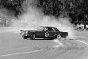 650469 - Norm Beechey, Ford Mustang - Warwick Farm 1965 - Photographer Bruce Wells