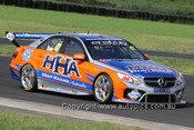 13004 - Tim Slade - Mercedes E63 AMG - Eastern Creek -2013 - Photographer Craig Clifford