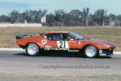 76422 - Rusty French - De Tomaso Pantera - Oran Park 1976 - -  Photographer Lance  Ruting.