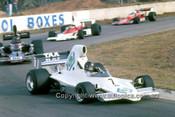 76660 - John Leffler, Lola T400 & Allison, Lola T332 - Oran Park Tasman Series 1976 - Photographer Lance J Ruting