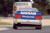 87042-  G. Seton / G Fury - Nissan Skyline - Castrol 500 Sandown 1987 - Photographer Ray Simpson