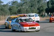 90022  - Richards, Nissan GTR, Longhurst, Johnson & Brock  Ford Sierra RS500 -  Oran Park 1990 - Photographer Marshall Cass