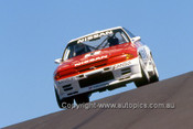 90768  -  J. Richards / M. Skaife  - Nissan Skyline GT-R - Bathurst 1990 - Photographer Ray Simpson