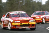 92038 - Mark Skaife - Nissan GTR - Oran Park 1992 - Photographer Ray Simpson