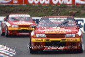 92040 - Jim Richards - Nissan GTR - Amaroo Park 1992 - Photographer Ray Simpson