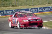 92749  - M. Gibbs / R. Onslow - Nissan GTR -  Bathurst 1992 - Photographer Ray Simpson