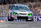 202042 - Craig Lowndes,  Ford Falcon AU - Indy 2002 - Photographer Marshall Cass