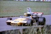 David Hobbs,  McLaren M22 Chev - Warwick Farm 1972 - Photographer Russell Thorncraft