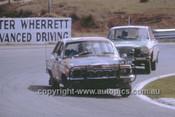 G. McDonald, Torana XU1 & Graeme Ward, Volvo - Dulux Rally Oran Park 1971 - Photographer Russell Thorncraft