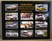 224 - Peter Brock King Of The Mountain - Signed - $99