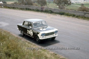 66745  -  Ron Kearns & Barry Quail, Fiat 1500 - Gallaher 500  Bathurst 1966 - Photographer Geoff Arthur