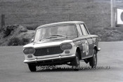66747  -  Ron Kearns & Barry Quail, Fiat 1500 - Gallaher 500  Bathurst 1966 - Photographer Geoff Arthur