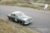 66754  - Kevin Bartlett & John Harvey, Volvo 122S - Gallaher 500  Bathurst 1966 - Photographer Geoff Arthur